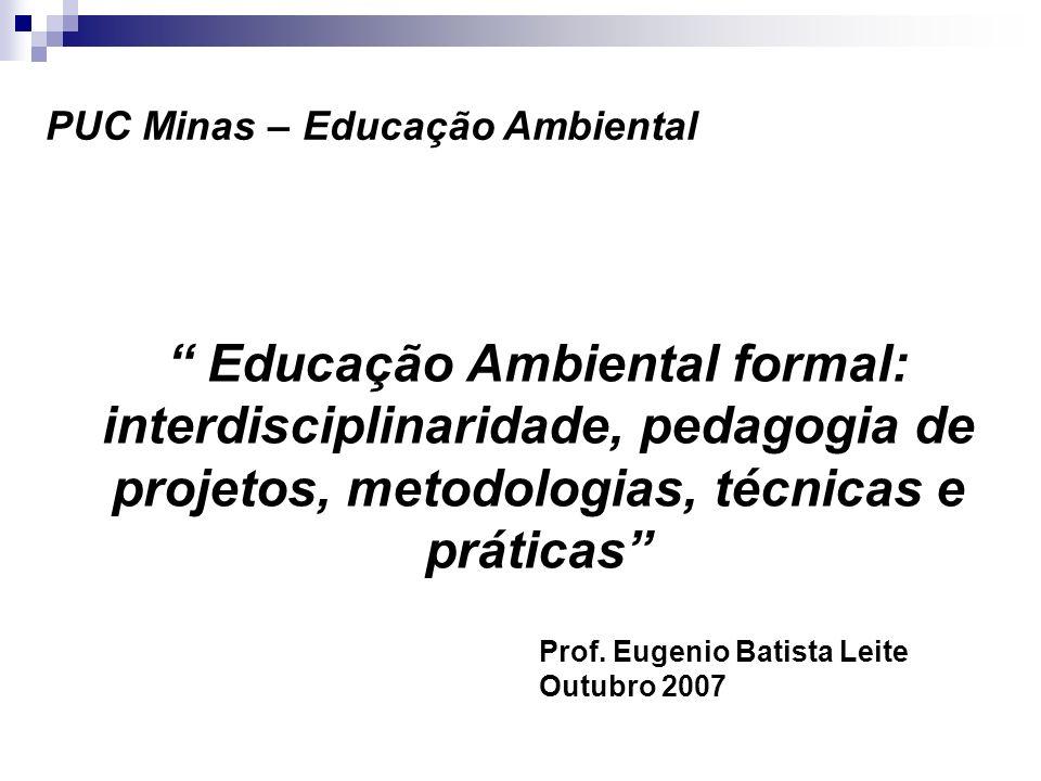PUC Minas – Educação Ambiental