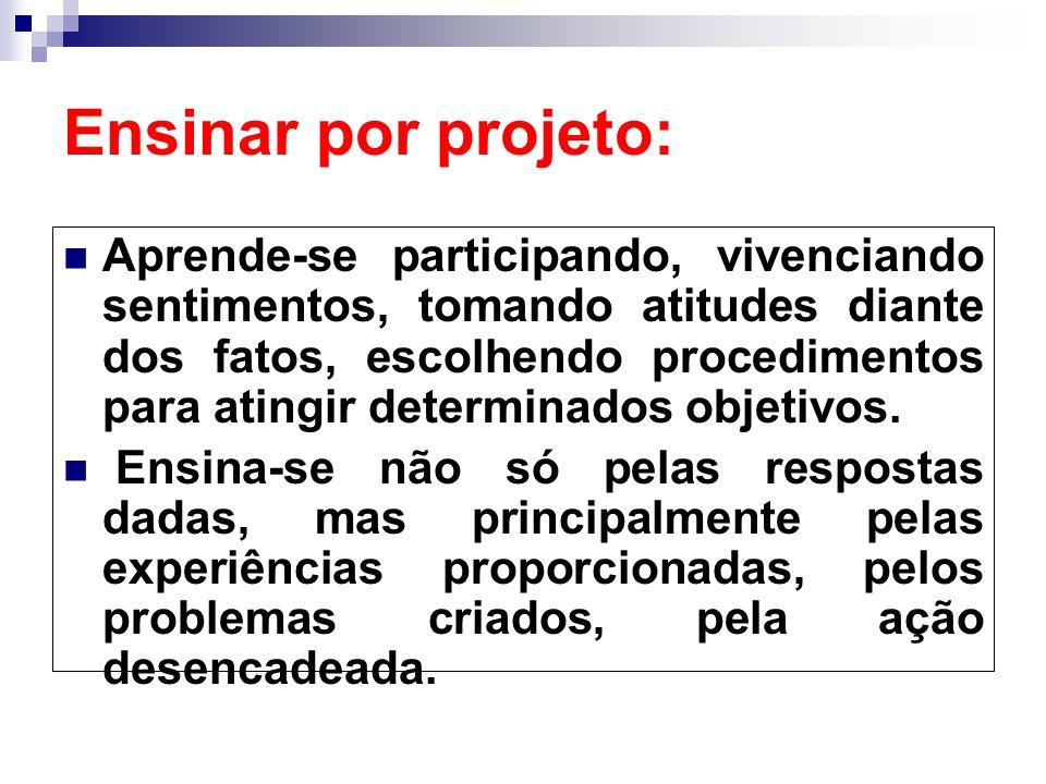 Ensinar por projeto: