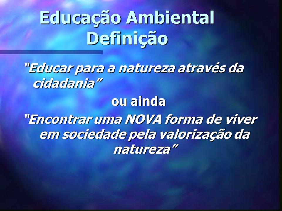 Educação Ambiental Definição