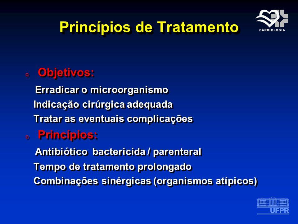 Princípios de Tratamento