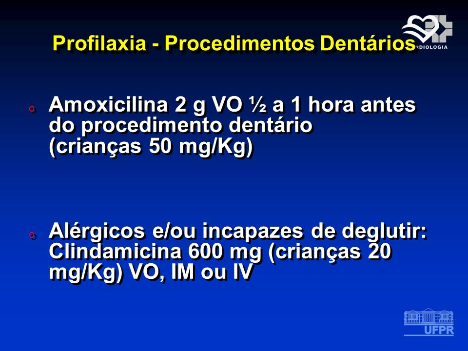 Profilaxia - Procedimentos Dentários