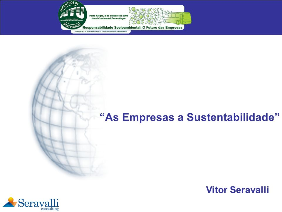 As Empresas a Sustentabilidade