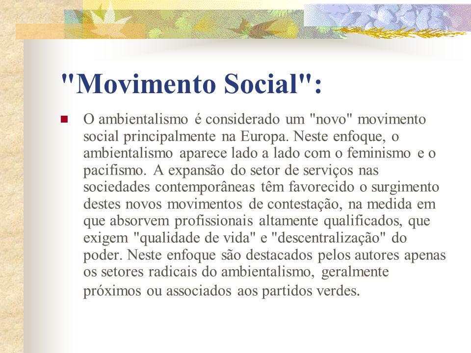 Movimento Social :