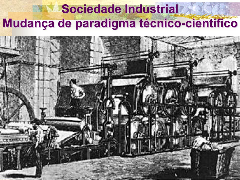 Mudança de paradigma técnico-científico
