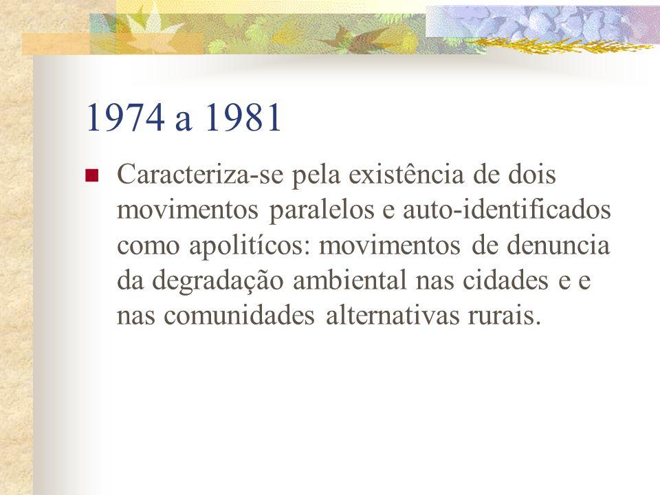 1974 a 1981