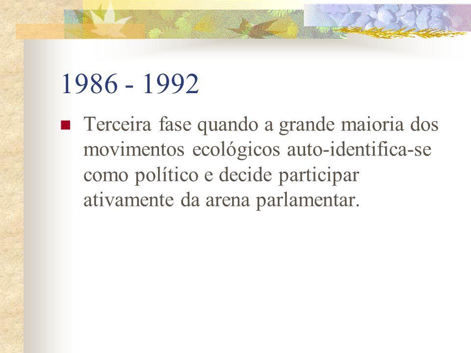 1986 - 1992