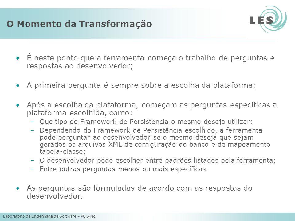 O Momento da Transformação