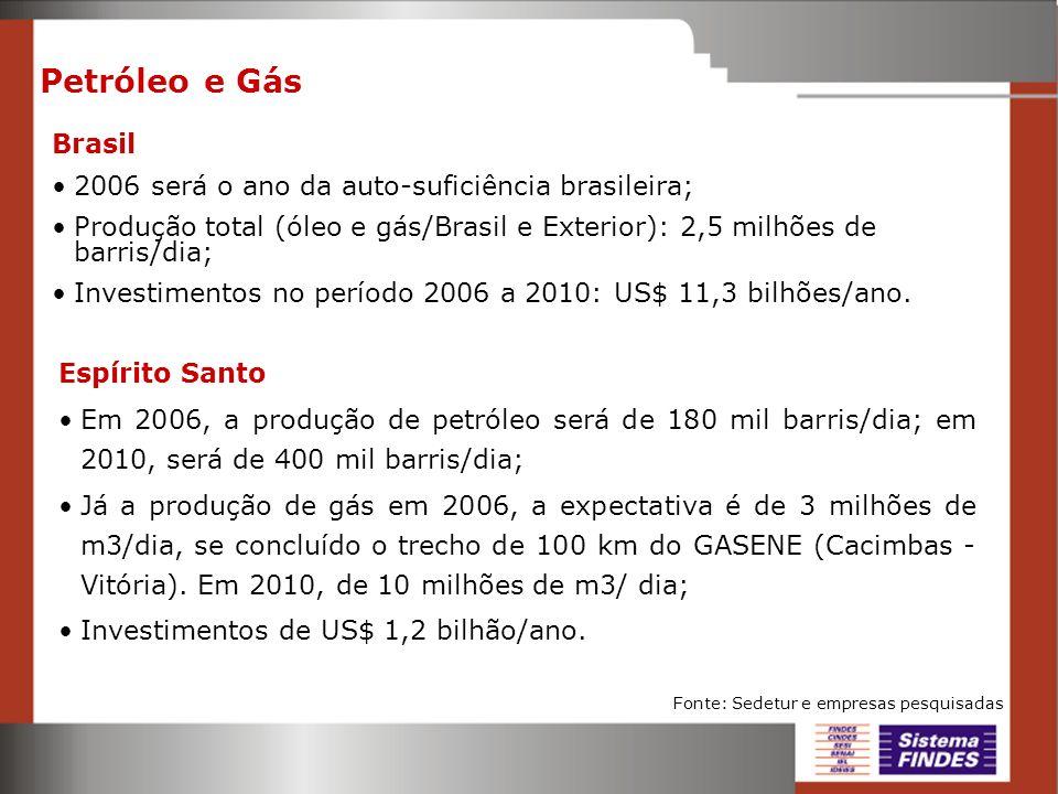 Petróleo e Gás Brasil 2006 será o ano da auto-suficiência brasileira;