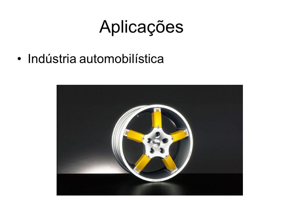 Aplicações Indústria automobilística