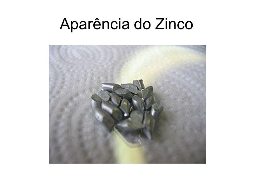 Aparência do Zinco