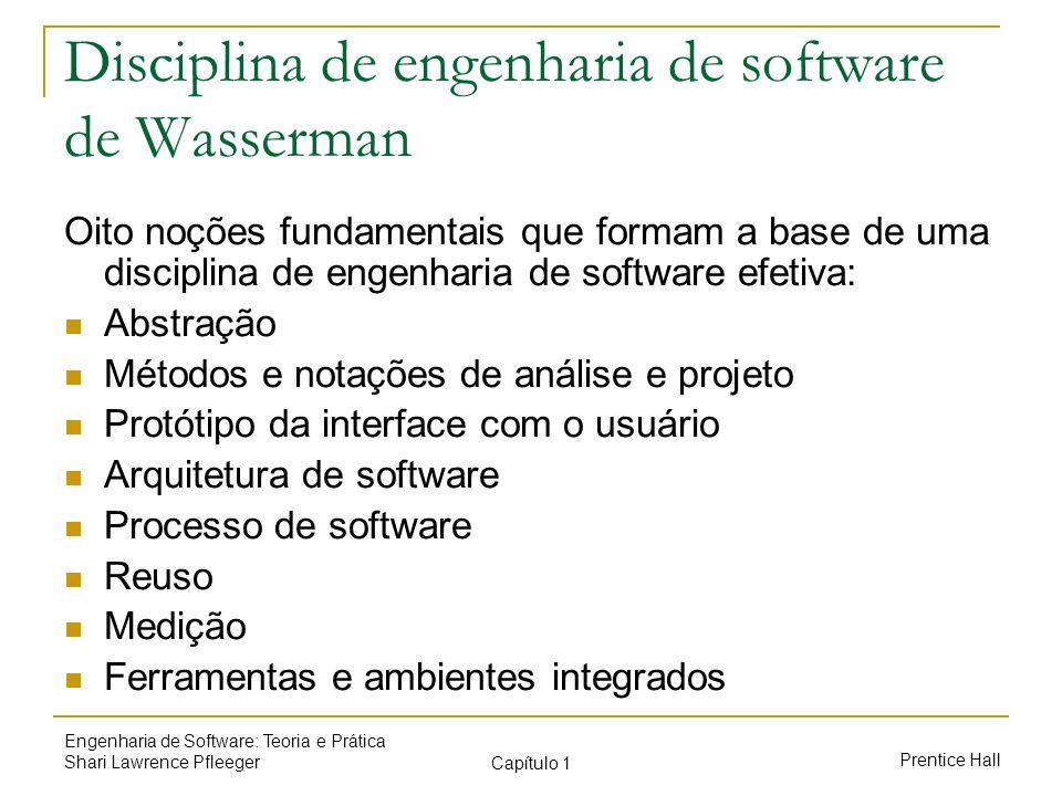 Disciplina de engenharia de software de Wasserman