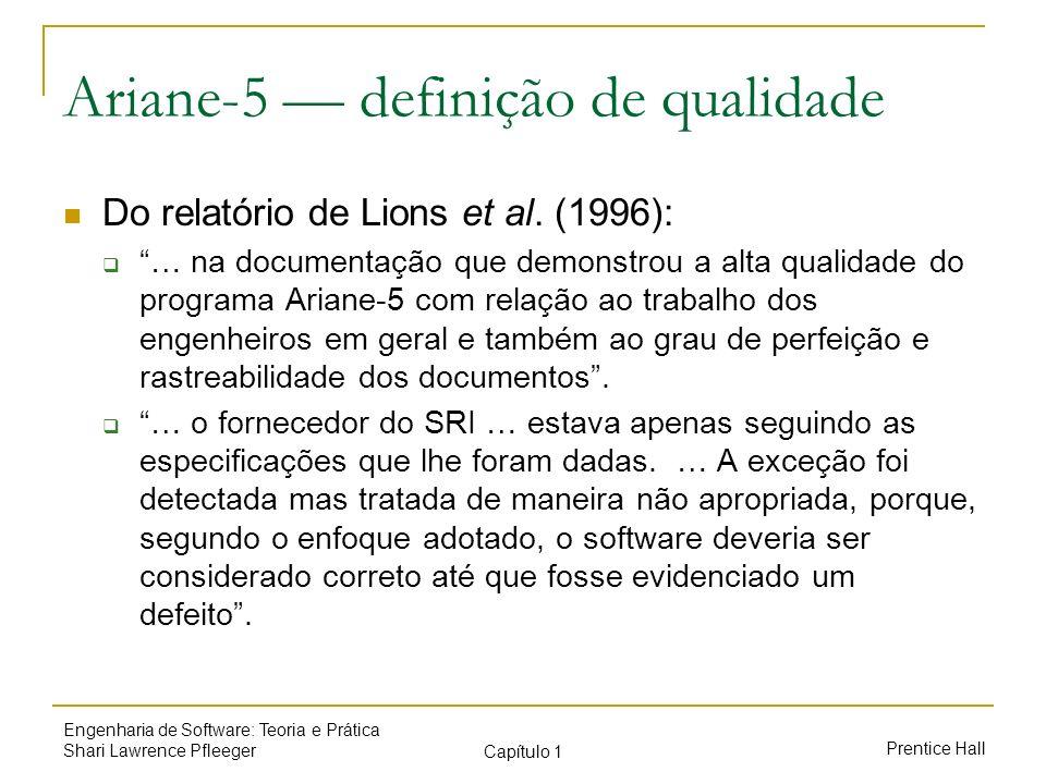 Ariane-5 — definição de qualidade