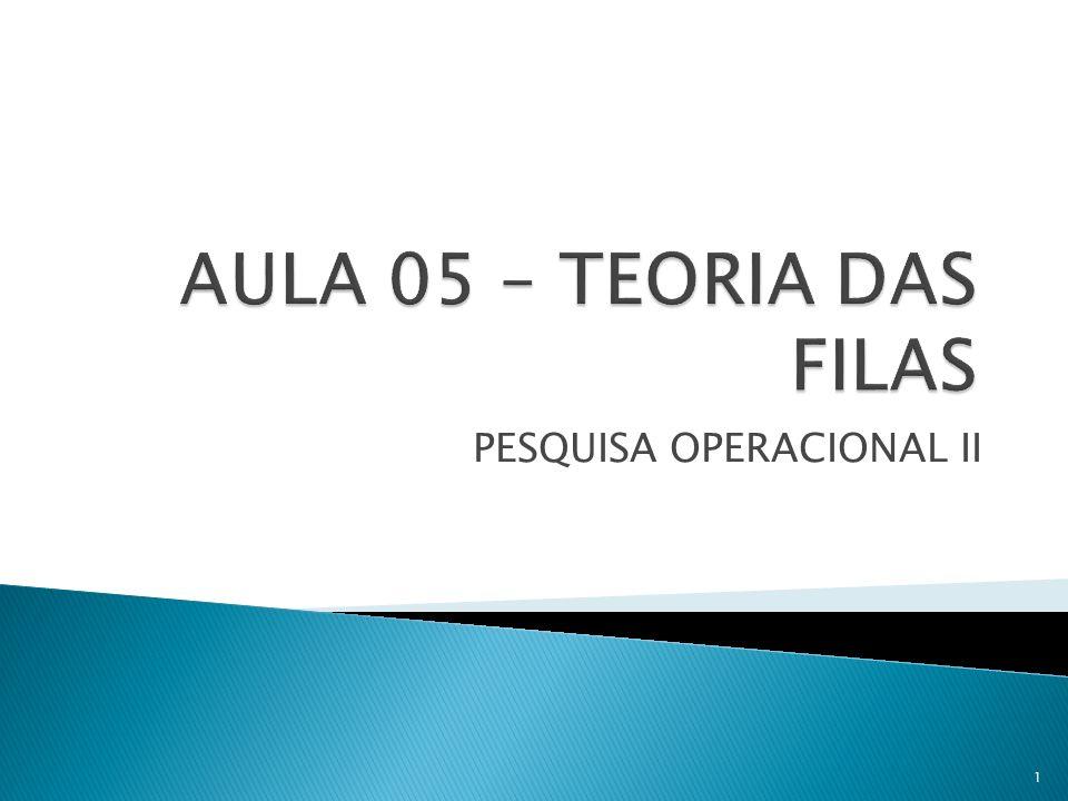 PESQUISA OPERACIONAL II