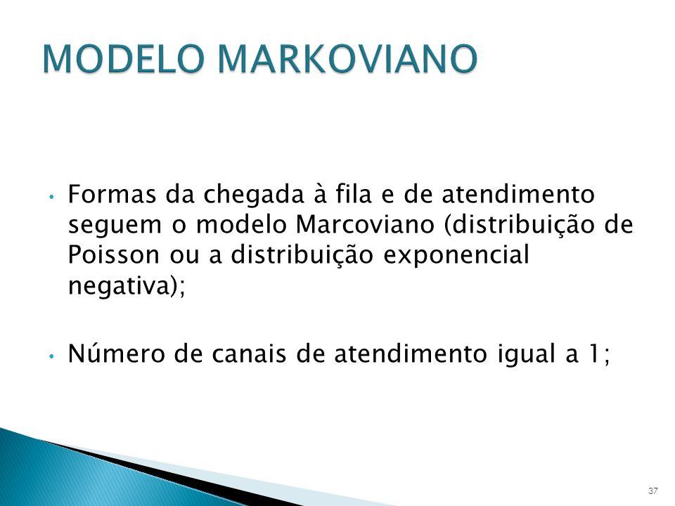 MODELO MARKOVIANO