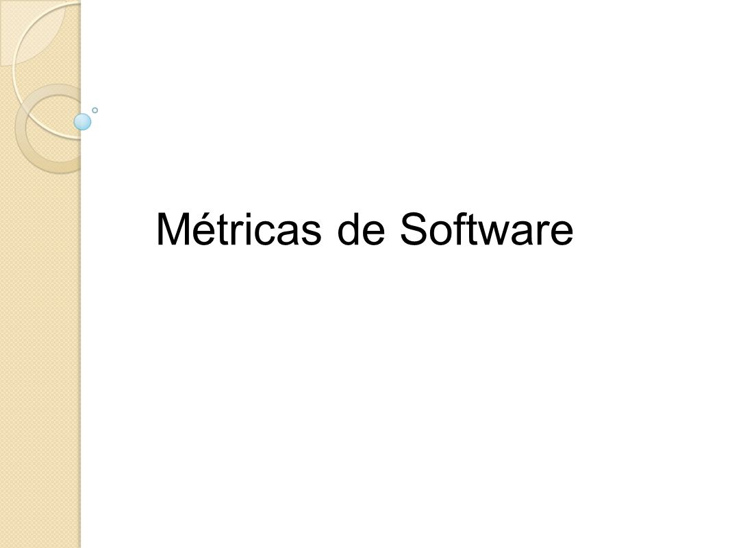 Métricas de Software
