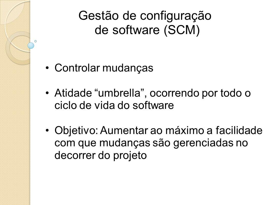 Gestão de configuração de software (SCM)