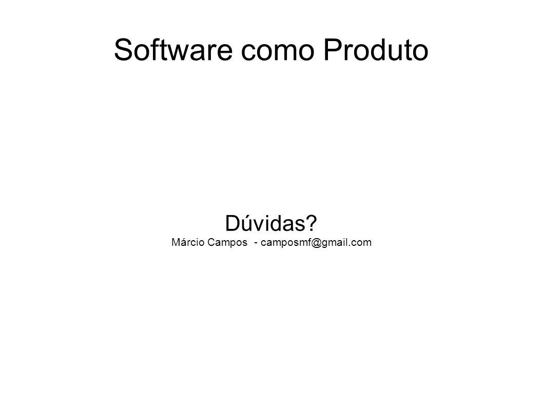 Dúvidas Márcio Campos - camposmf@gmail.com