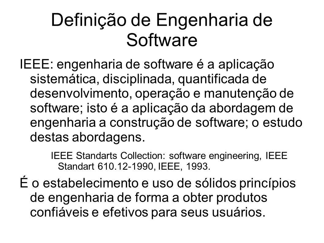 Definição de Engenharia de Software