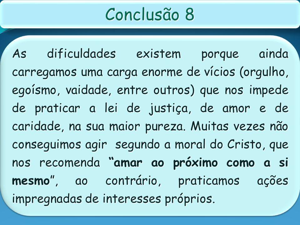 Conclusão 8
