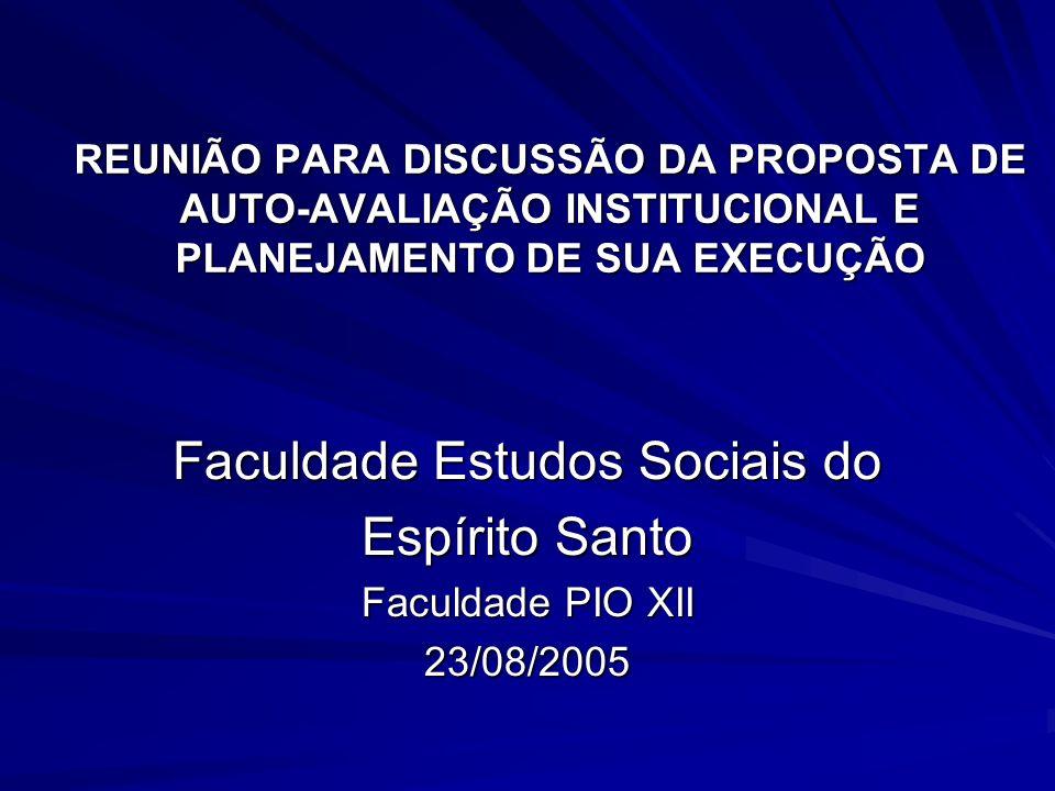 Faculdade Estudos Sociais do