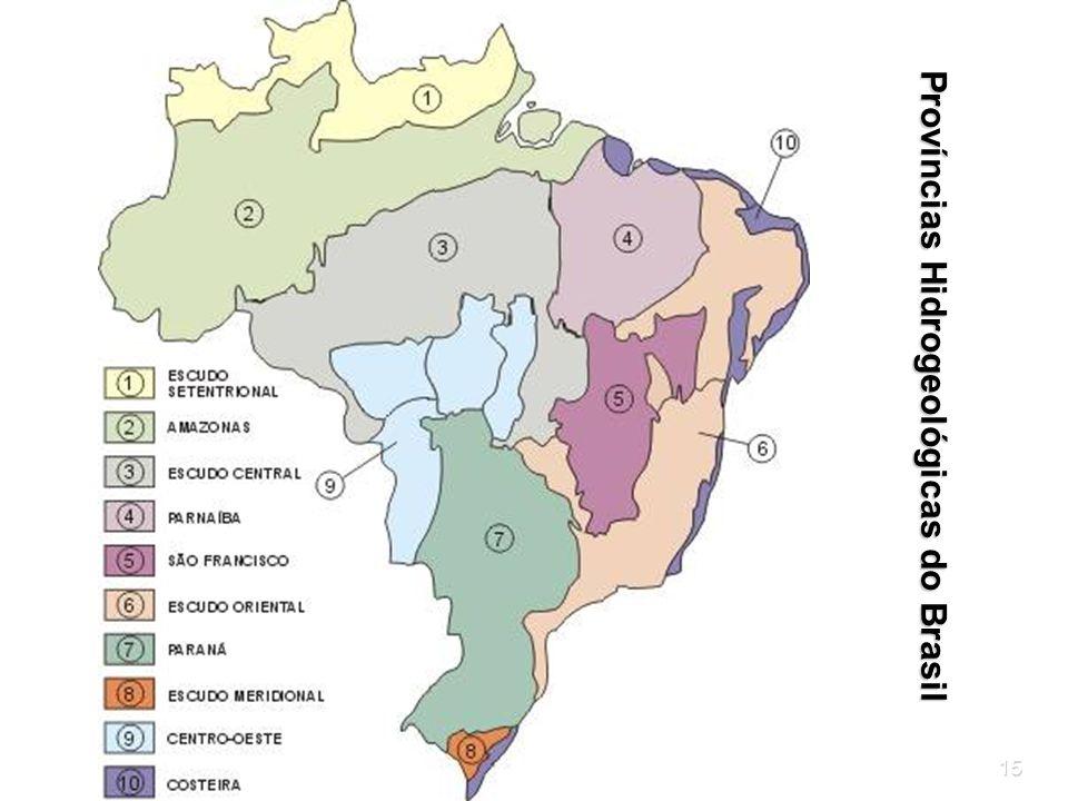 Províncias Hidrogeológicas do Brasil