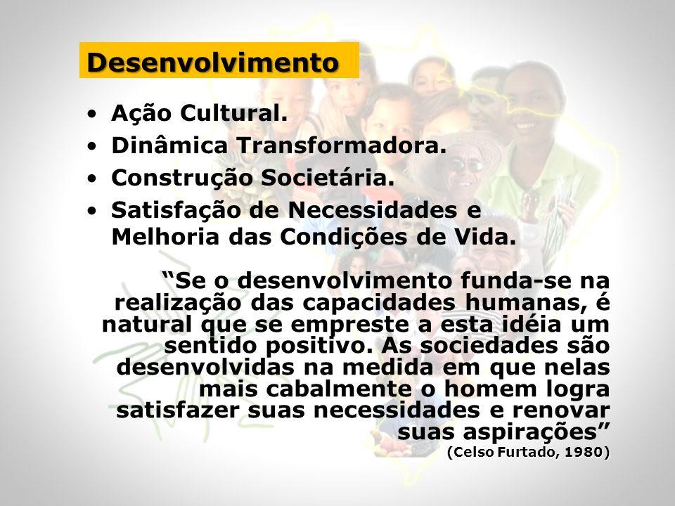 Desenvolvimento Ação Cultural. Dinâmica Transformadora.