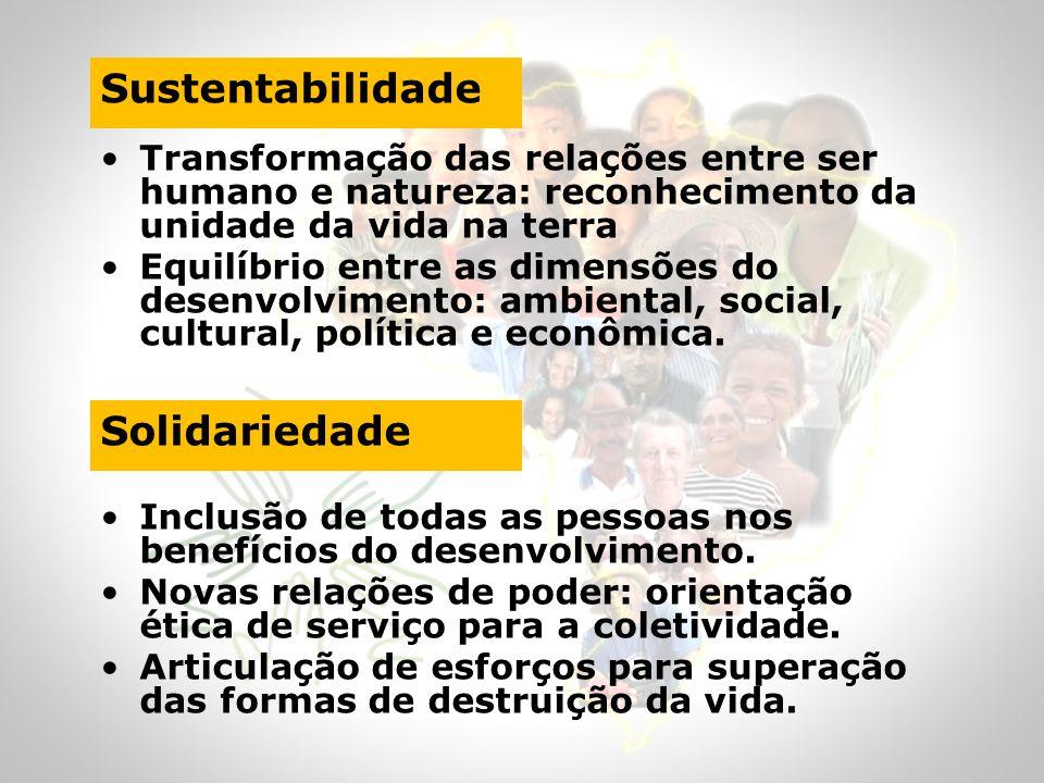 Sustentabilidade Solidariedade