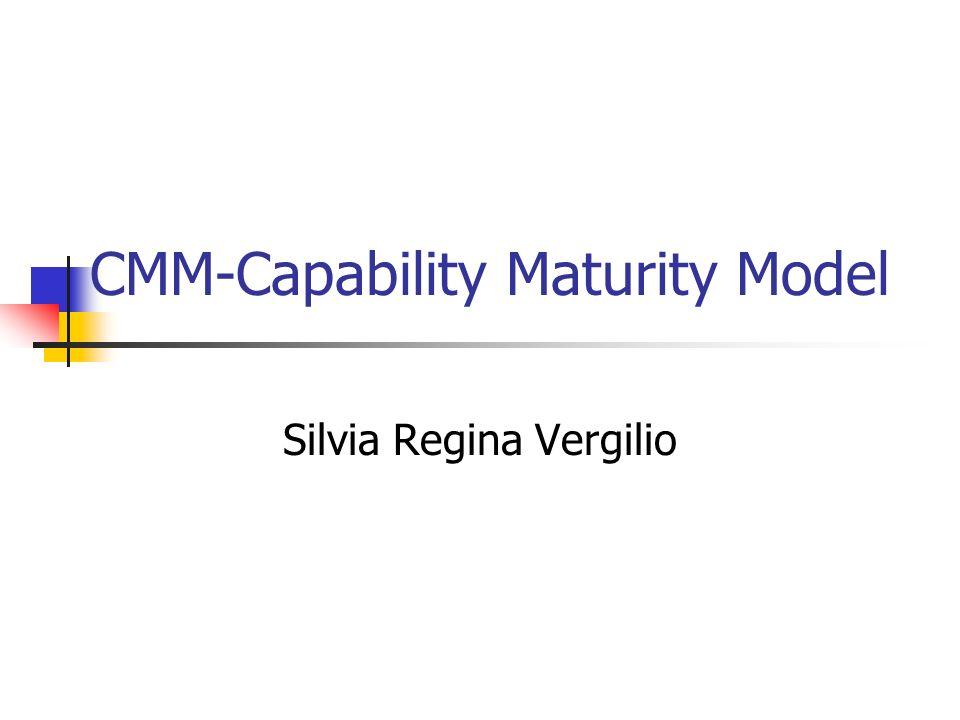 CMM-Capability Maturity Model
