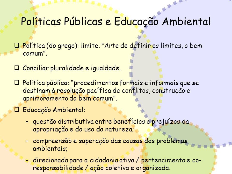 Políticas Públicas e Educação Ambiental