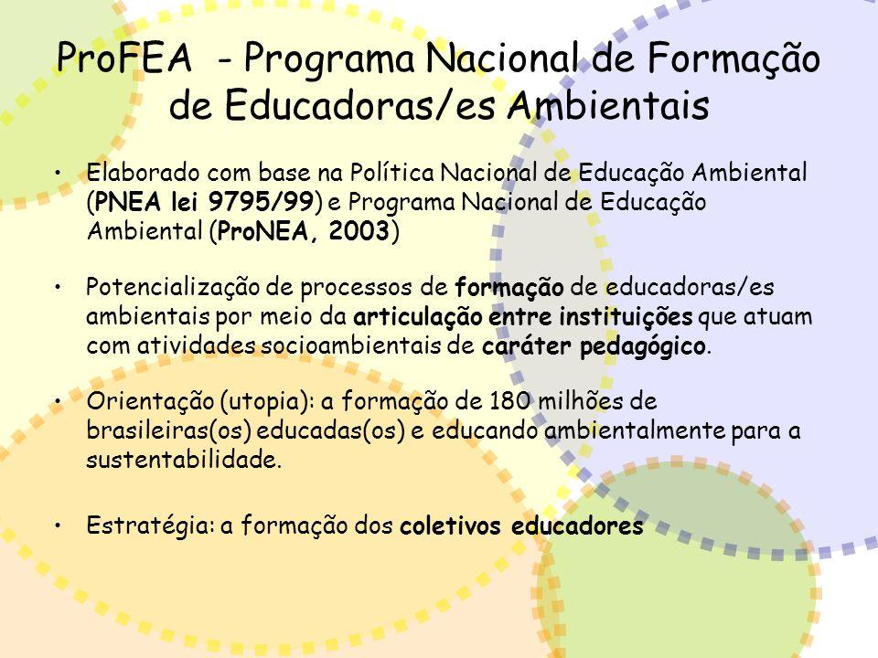 ProFEA - Programa Nacional de Formação de Educadoras/es Ambientais