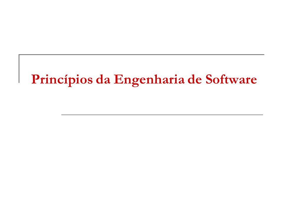 Princípios da Engenharia de Software