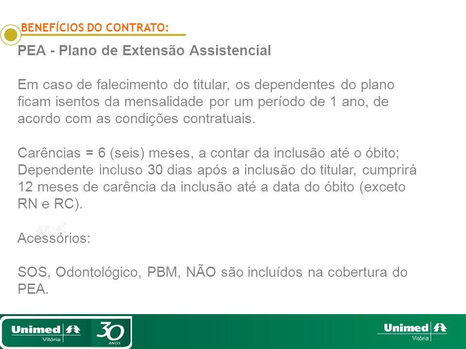 PEA - Plano de Extensão Assistencial