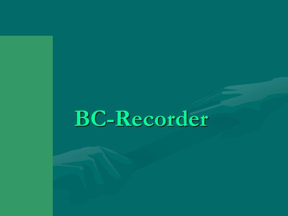 BC-Recorder