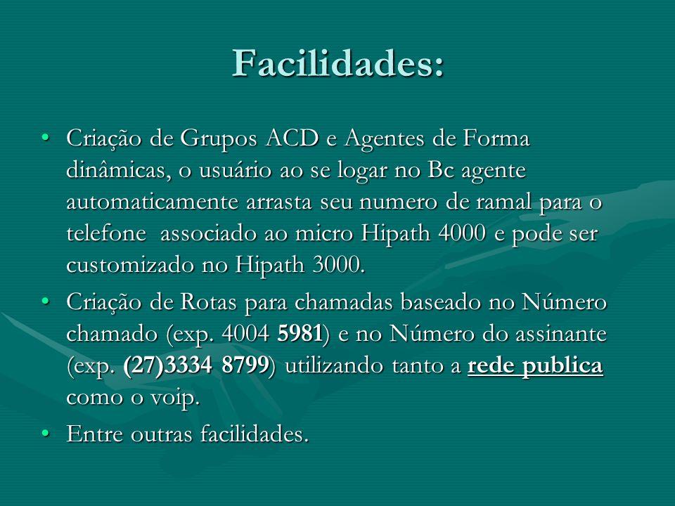 Facilidades:
