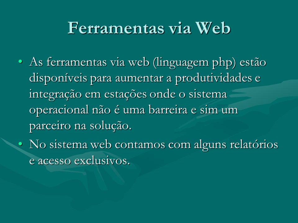 Ferramentas via Web