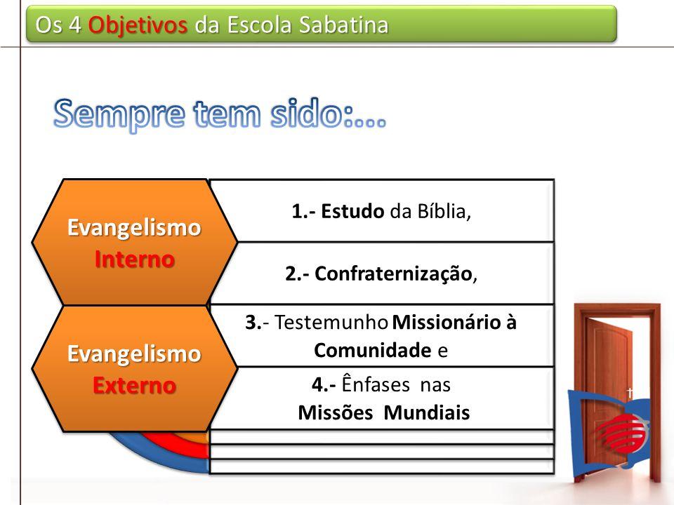3.- Testemunho Missionário à Comunidade e