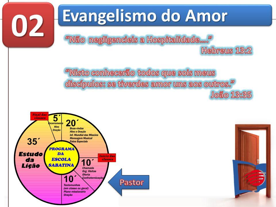 02 Evangelismo do Amor Não negligencieis a Hospitalidade….