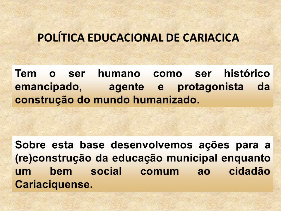 POLÍTICA EDUCACIONAL DE CARIACICA