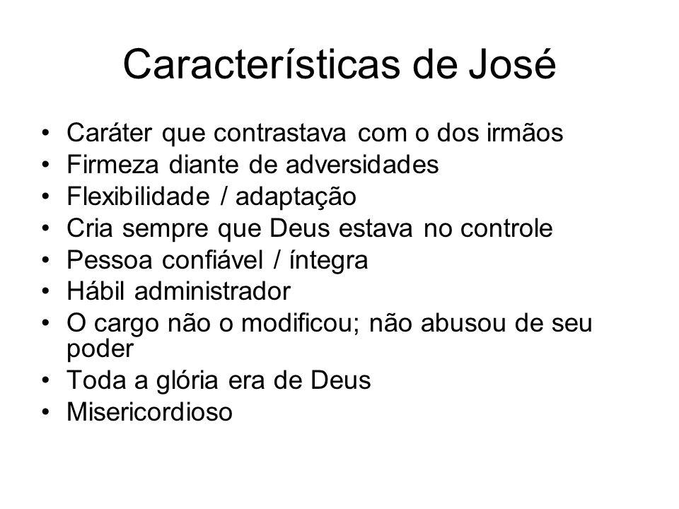 Características de José