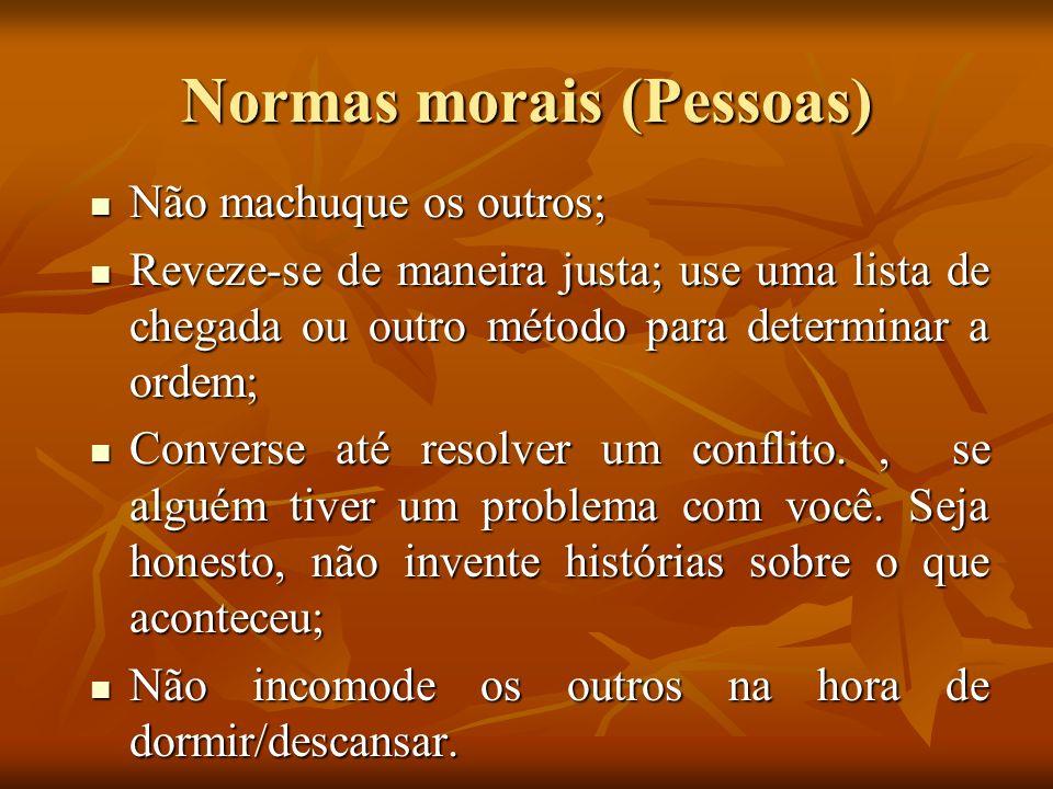 Normas morais (Pessoas)