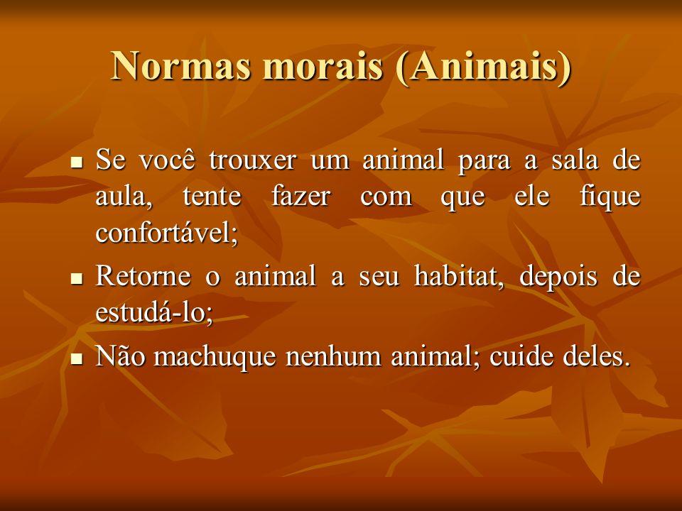 Normas morais (Animais)