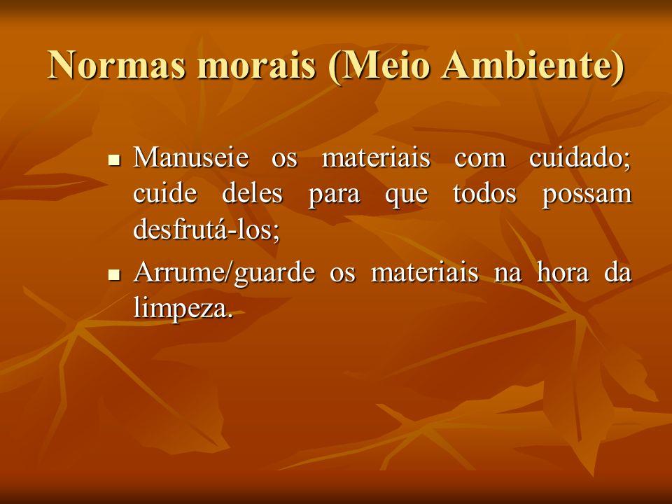 Normas morais (Meio Ambiente)