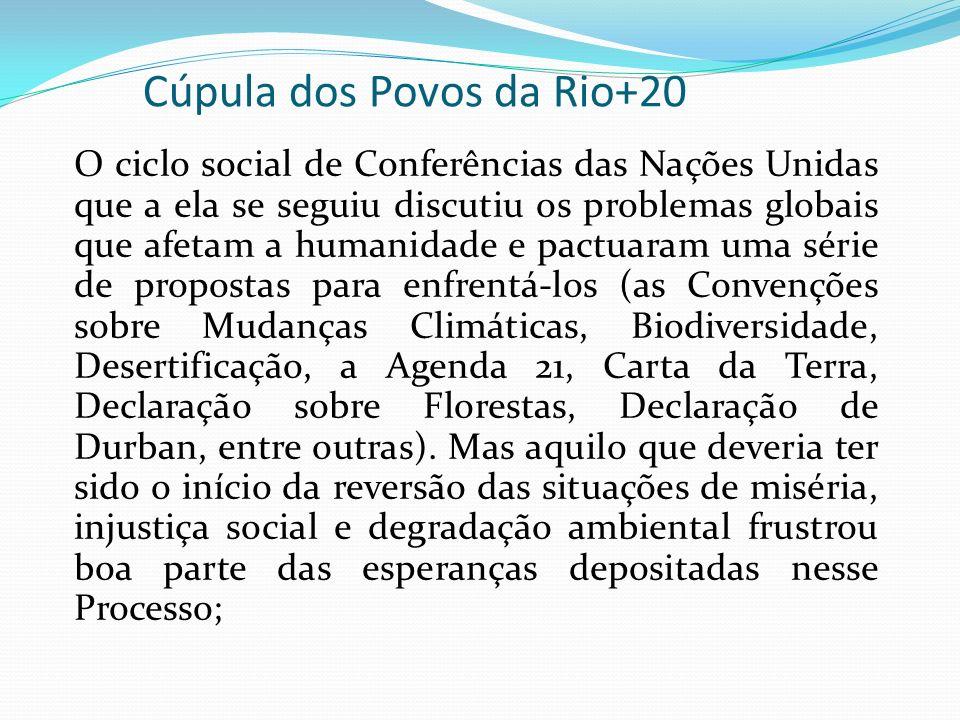 Cúpula dos Povos da Rio+20