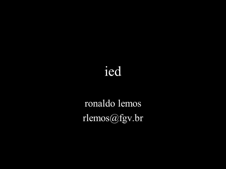 ronaldo lemos rlemos@fgv.br