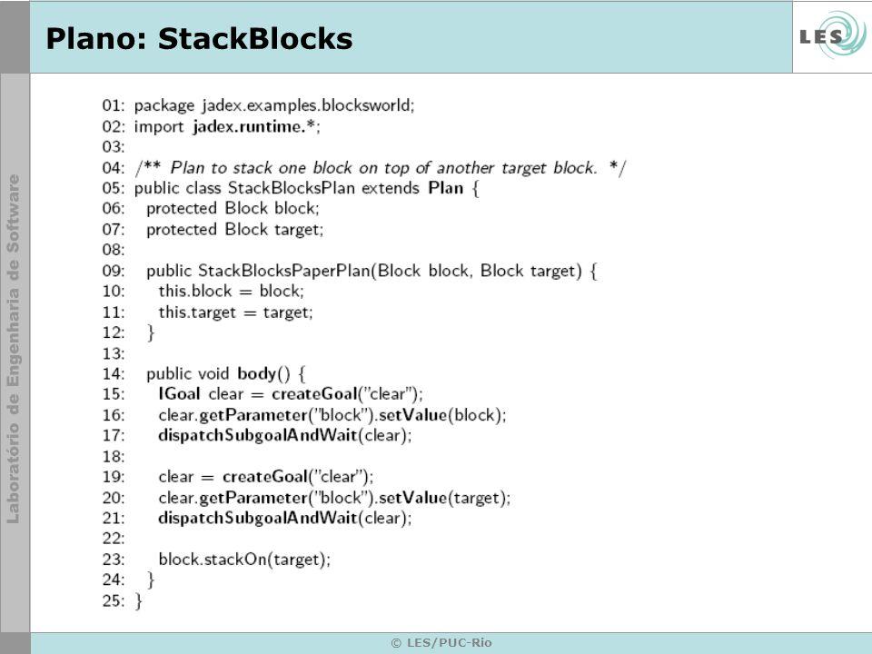 Plano: StackBlocks © LES/PUC-Rio