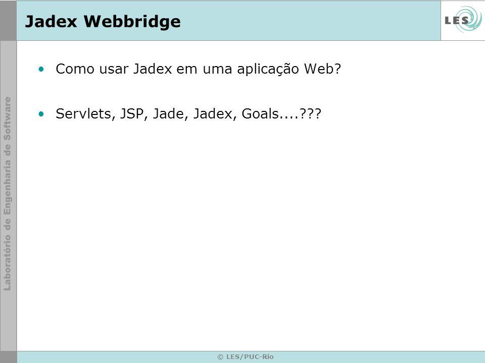Jadex Webbridge Como usar Jadex em uma aplicação Web