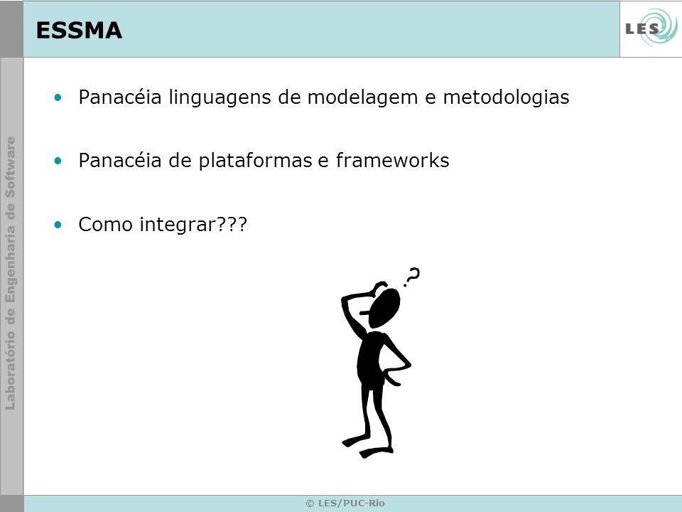 ESSMA Panacéia linguagens de modelagem e metodologias