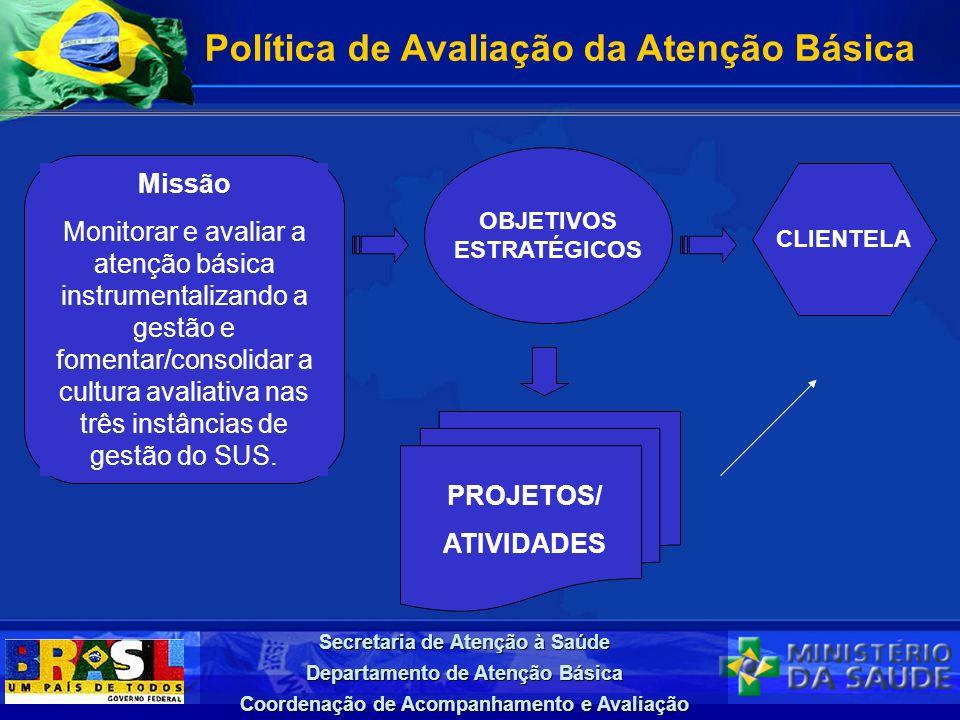 Política de Avaliação da Atenção Básica