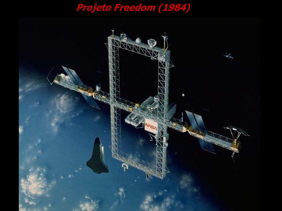 Projeto Freedom (1984) Cortesia NASDA.