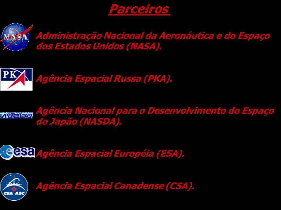 Parceiros Administração Nacional da Aeronáutica e do Espaço